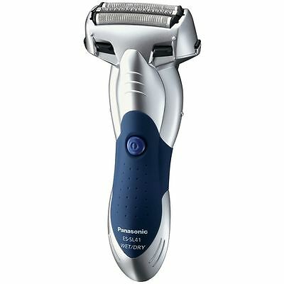 Panasonic 3 Blade Wet/Dry Mens Electric Shaver - Silver with Pop Up Trimmer