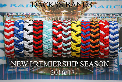 Football English Premiership Teams Hand Made 550 Paracord WristBand  Bracelet