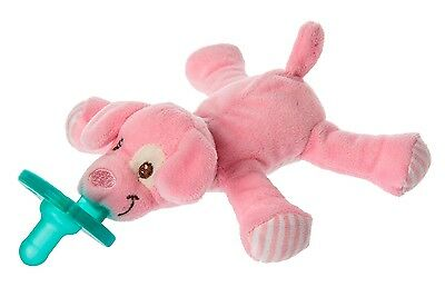 New Mary Meyer Baby Infant Soothie Pacifier Wubbanub ~ Pink Puppy