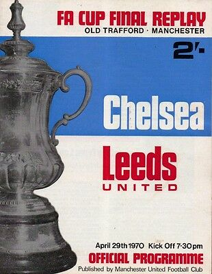 * 1970 FA CUP FINAL REPLAY - CHELSEA v LEEDS UNITED *