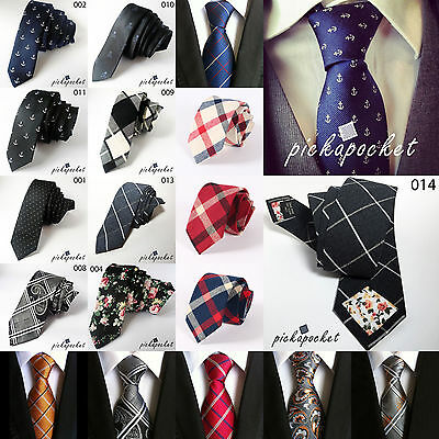 Wedding Classic Necktie Skinny Men Ties Business Bowties Floral Designer Men's