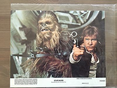 Star Wars Lobby Cards A New Hope 1st Printing 1977 10x8's
