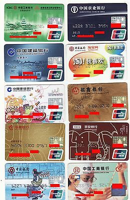 78 different China bank cards