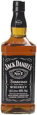 Jack Daniel's Old No.7 Tennessee Whiskey 1 Litre