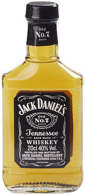 Jack Daniels Old No.7 Tennessee Whiskey 200ml