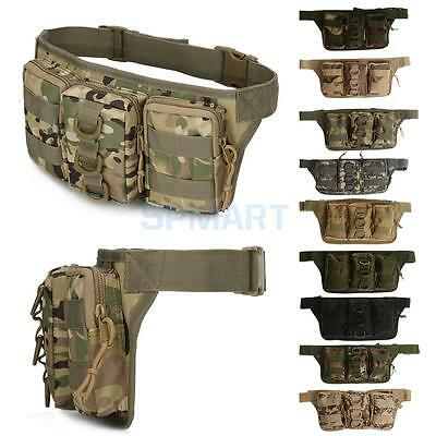 Outdoor Sports Travel Waist Fanny Bag Pack Tactical Military Purse Phone Pouch