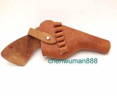 Ww2 Chinese Military Tactical Revolver Holster Communist Brown Holster