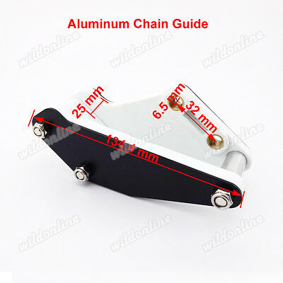 Rear Aluminum Swingarm Guard Chain Guide Fit Chinese Pit Dirt  Trail  Motorcycle