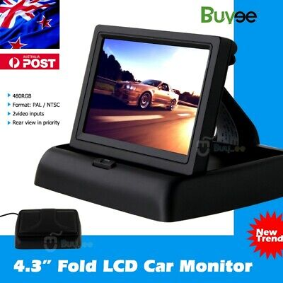 4.3 inch TFT Digital Color LCD Car Reverse Monitor Screen for Camera DVD VCR