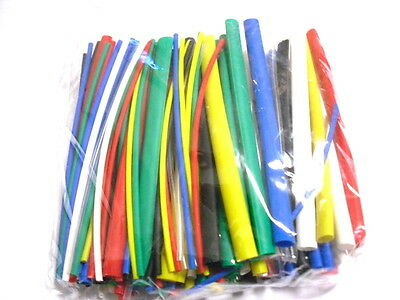 140 Pcs Heat Shrink Tube Mixed Colour/Size Assorted Pack : Tubing Assortment Kit