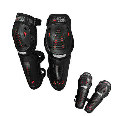 Youth Outdoor MTB MX Racing Protection Knee Pads Elbow Motorcycle Spine Gear