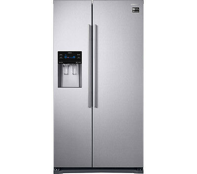 SAMSUNG RS53K4400SA American-Style Frost free Fridge Freezer - Stainless Steel
