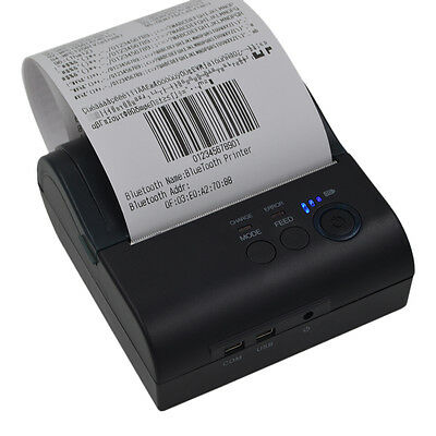 80mm Bluetooth Wireless Receipt POS-8001LD Thermal Printer For Android Windows P