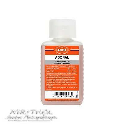 Adox Adonal (Rodinal) New Sized 100ml Bottle - RO9 Agfa Freshest in the UK!