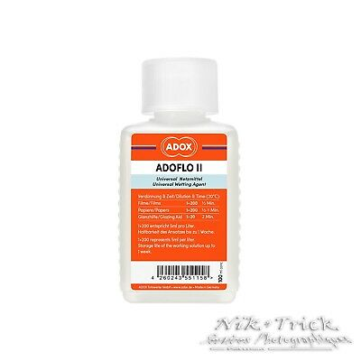 Adox AdoFlo Wetting Agent - 250ml Pro Bottle - Essential for Clean Films
