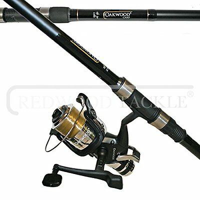 OAKWOOD Carp Combo 2.75tc Rod & Single Freespool/BTR Reel With Line Combo