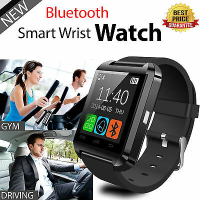 Bluetooth Smart Wrist Watch Phone Mate For Android IOS Samsung iPhone LG US