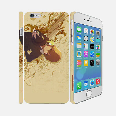 F006 Baccano - Apple iPhone 4 5 6 Hardshell Back Cover Case