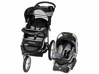 Baby Trend TRAVEL SYSTEM, Expedition Jogger STROLLER & Baby CAR SEAT, Phantom