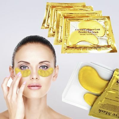 Crystal Collagen Gold Eye Mask Augenpads Anti Aging Feuchtigkeitsmaske 1-50 St.