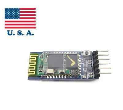 Wireless Serial 6 Pin Bluetooth RF Transceiver Module HC-05 RS232 Master Slave