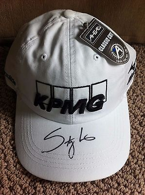 Autographed Stacy Lewis Golf Hat