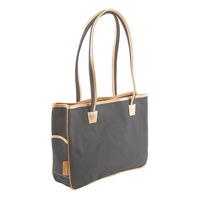 Gilles Berthoud Canvas Bag Lady Gb200 Black, Made In France