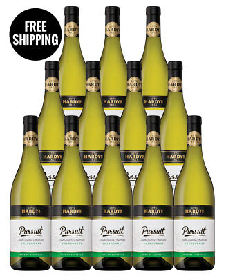 Hardys The Pursuit Chardonnay 2015 (12 Bottles)