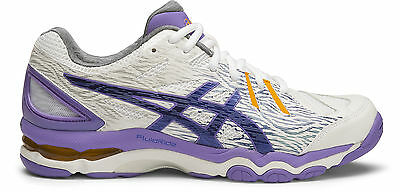 SAVE $$$ Asics Gel Netburner Super 6 Womens Netball Shoe (B) (0143)