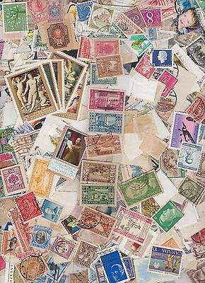 1900-1998 World stamp pack of 500 stamps