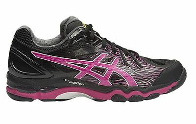 SAVE $$$ Asics Gel Netburner Super 6 Womens Netball Shoe (B) (9021)