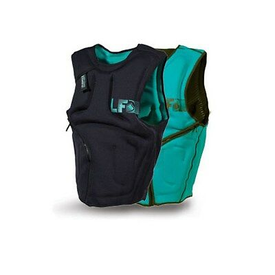 Liquid Force Supreme Kitesurfing Impact Vest – Green - Large