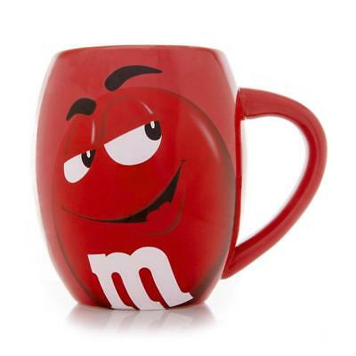M&M's World Red Character Barrel Mug New