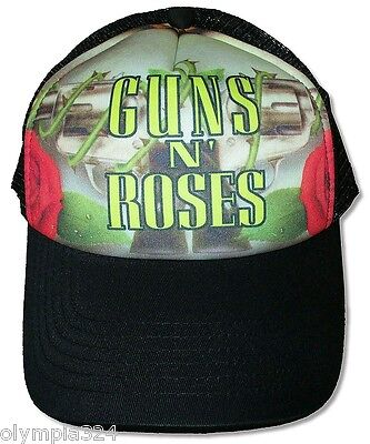 "GUNS N' ROSES TRUCKER HAT/CAP ""Revolvers"" Authentic Licensed NEW"
