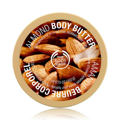 The body Shop Almond Body Butter NEW - Moisturization for up to 24-hours