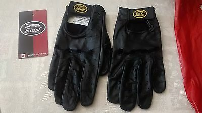 women's or men's small motorcycle gloves Bristol breathable thin genuine leather