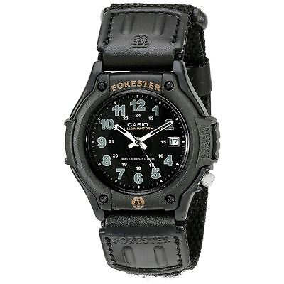 Casio Forester Men's Watch - Analogue Display - Black with Resin Strap