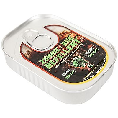 Zombie and Bug Repellent Emergency Candle Lemongrass Scented