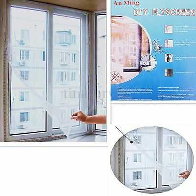 Window Screen Mesh Net Insect Mosquito Moth Protect Block 130*150CM Summer