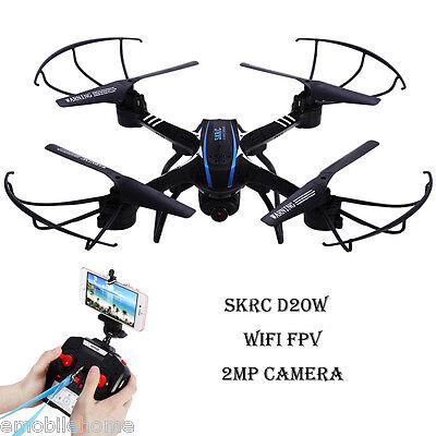 SKYC D20W WiFi FPV 2MP Camera 2.4GHz 4 Channel 6 Axis Gyro Quadcopter 3D Rollove
