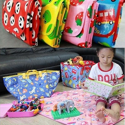 Kid Baby Toddles Waterproof Crawl Play Mat Carpet Outdoor Camping Picnic Blanket