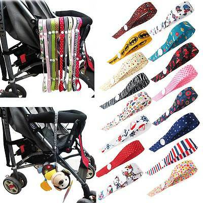 Toys Link Strap For Baby Kids Pushchair CarriageHigh Chair/Stroller/Car Seat