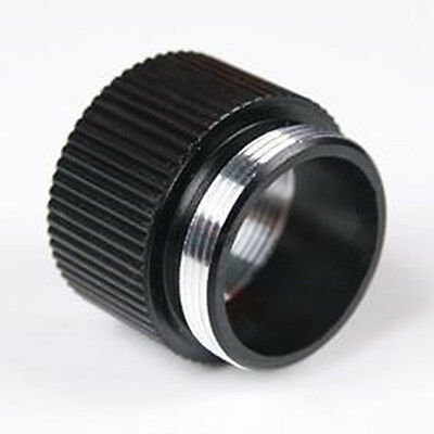 2X Extension Ring Tube Joint Adapter Rechargeable for Bright Flashlight 18650