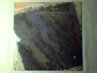 HAROLD BUDD / BRIAN ENO with DANIEL LANOIS The pearl lp