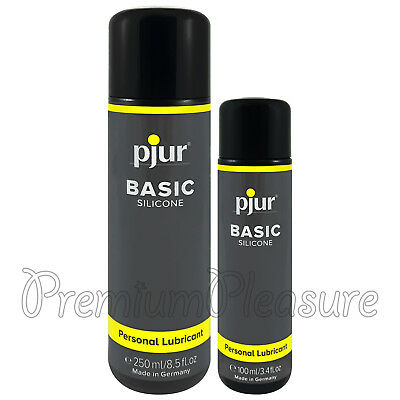 pjur BASIC Silicone lubricant * For moisturizing and massage * 100ml 250ml lube