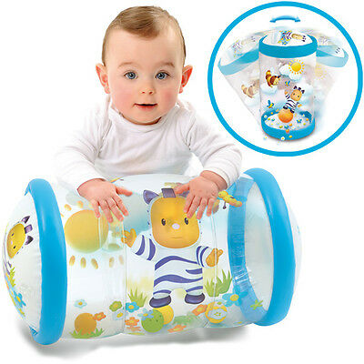 Smoby Cotoons Krabbelrolle Baby Roul 2in1 (Blau)