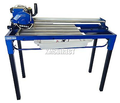 FoxHunter Electric Tile Cutter Cutting Machine 1250W Motor Sliding Wet Saw 850mm