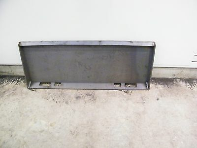 Universal skid steer quick attach Mounting mount US MADE plate EXTEREME DUTY 3/8