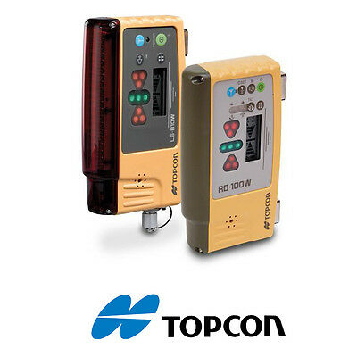 Topcon LS-B10W & RD-100W Bluetooth Wireless Mag Mounted Laser Receiver Combo