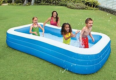 New Intex Outdoor Backyard Kid Swim Play Water Pool Family Inflatable Swimming